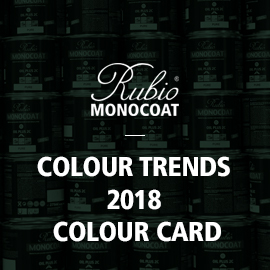 RMC Colour Trends 2018 Colour Card