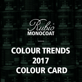 RMC Colour Trends 2017 Colour Card