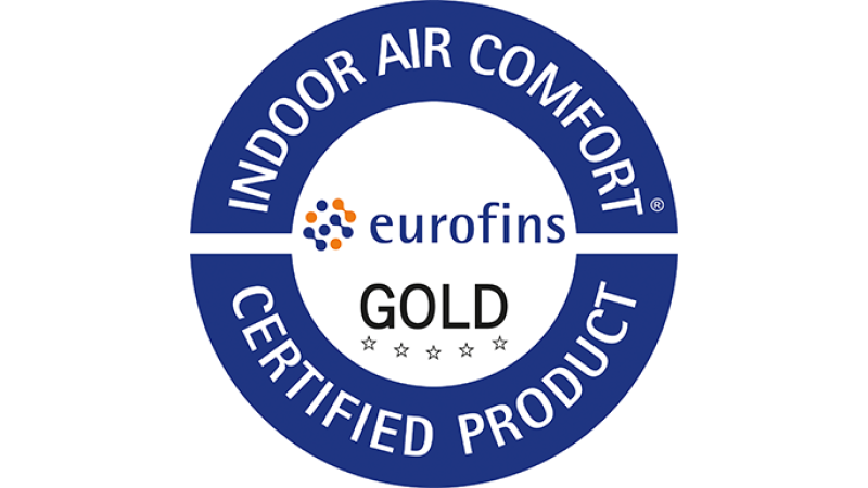 Eurofins Indoor Air comfort Gold